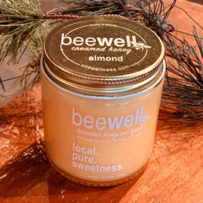 Bee Well Almond Creamed Honey