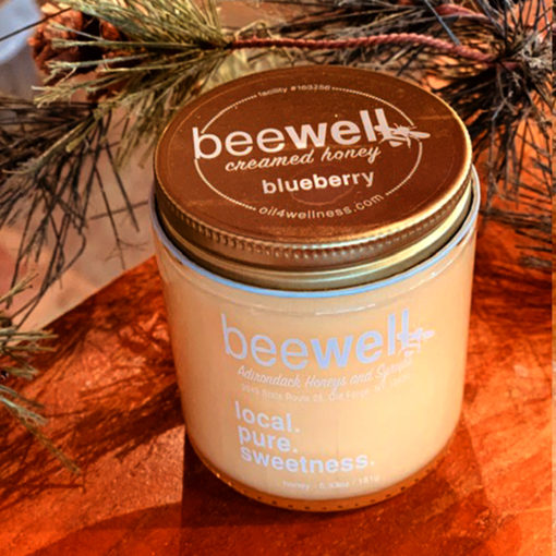 Bee Well Blueberry Creamed Honey