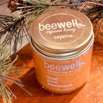 Bee Well Cayenne Infused Creamed Honey