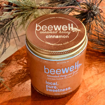Bee Well Cinnamon Creamed Honey