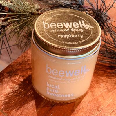 Bee Well Raspberry Creamed Honey