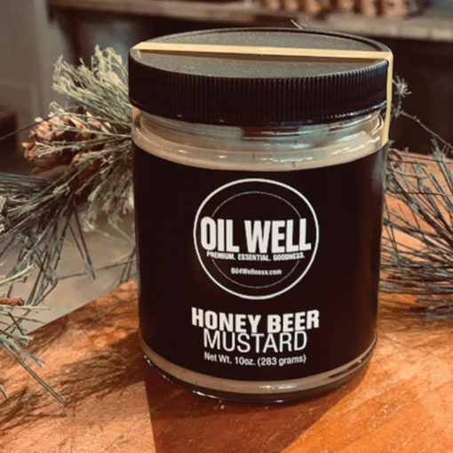 Oil Well Honey Beer Mustard