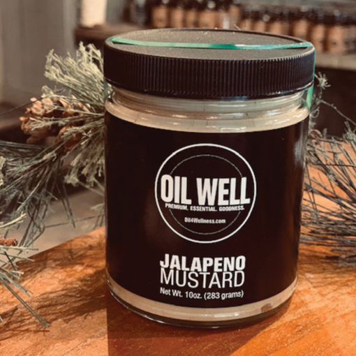 Oil Well Jalapeño Mustard