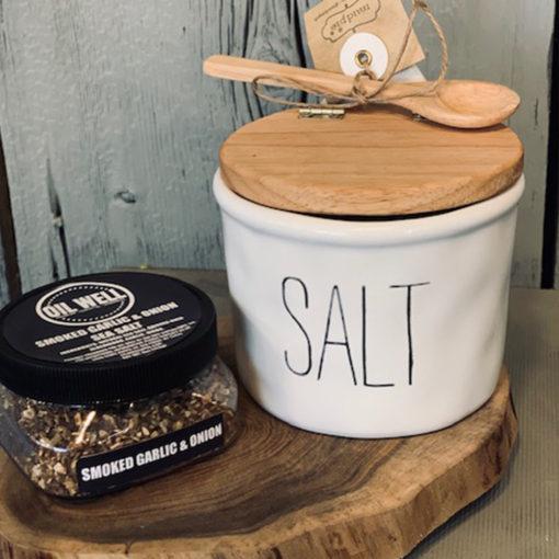 Oil Well Smoked Garlic and Onion Sea Salt