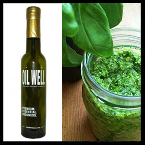 Pesto Olive Oil by Oil Well